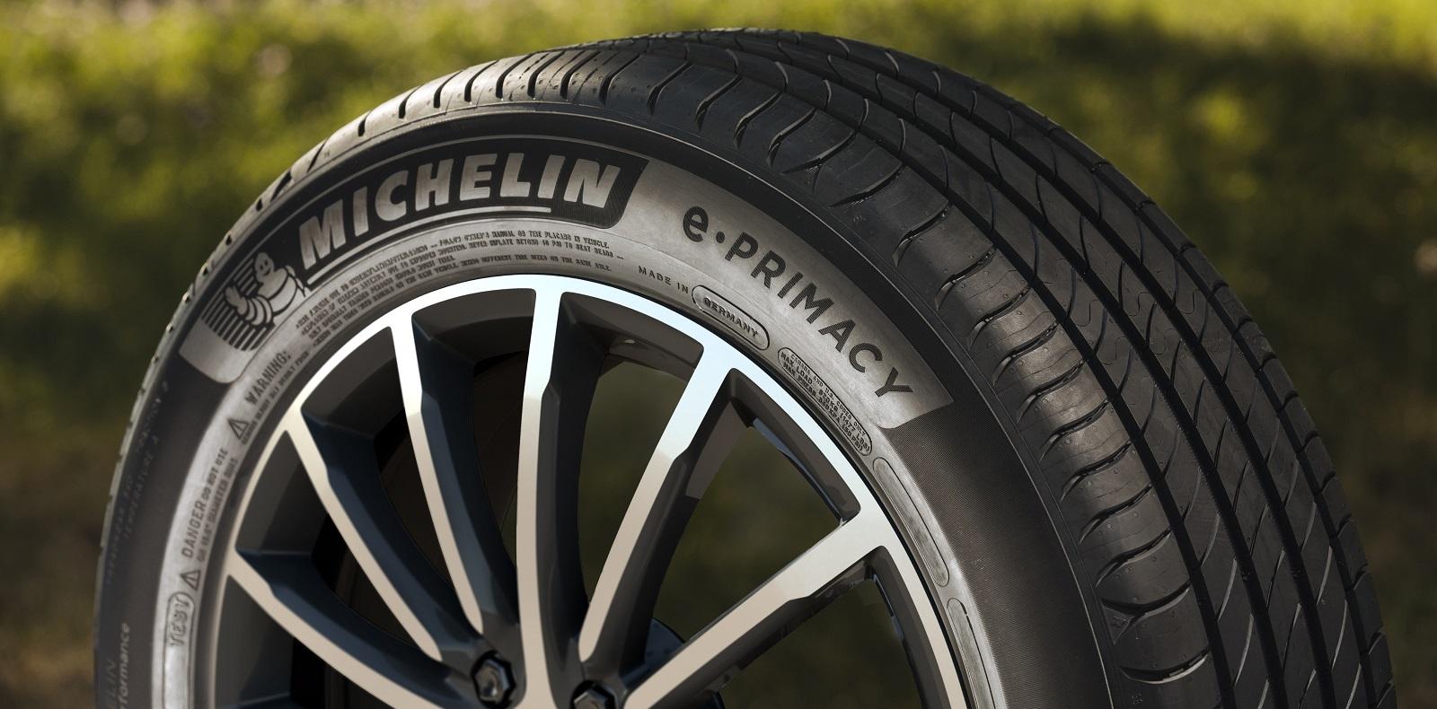 Michelin e.Primacy tyres