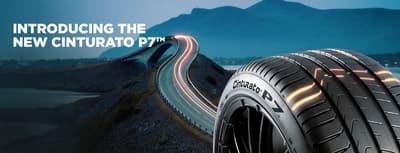 new Pirelli tyres