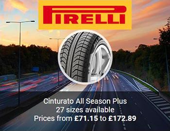 Pirelli Cinturato All Season Plus Tyres