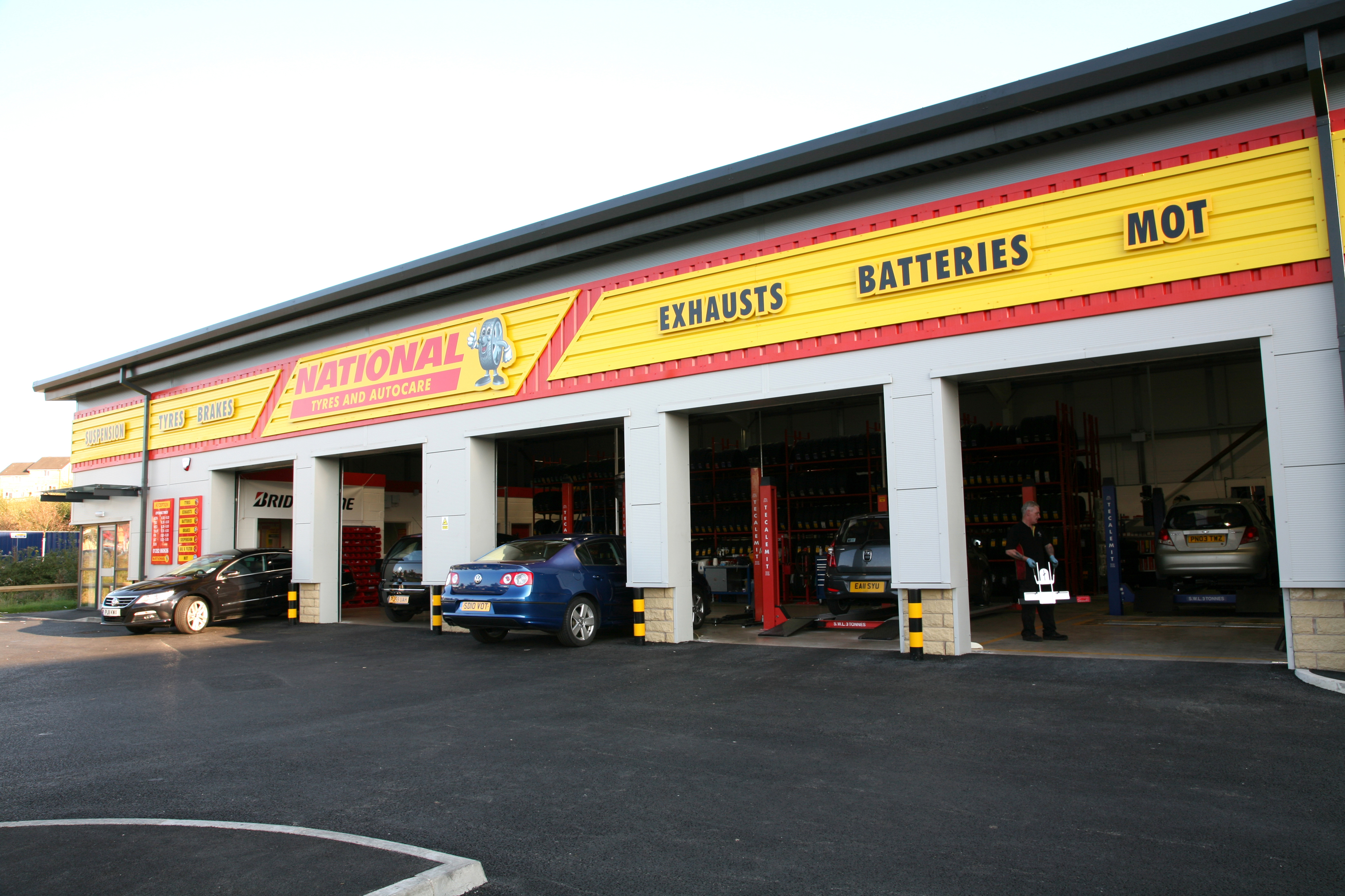 Oil Change at National Tyres