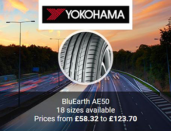 Yokohama BluEarth AE50 Tyres